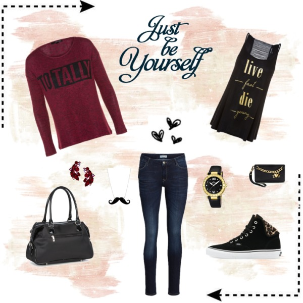 Be totally yourself!