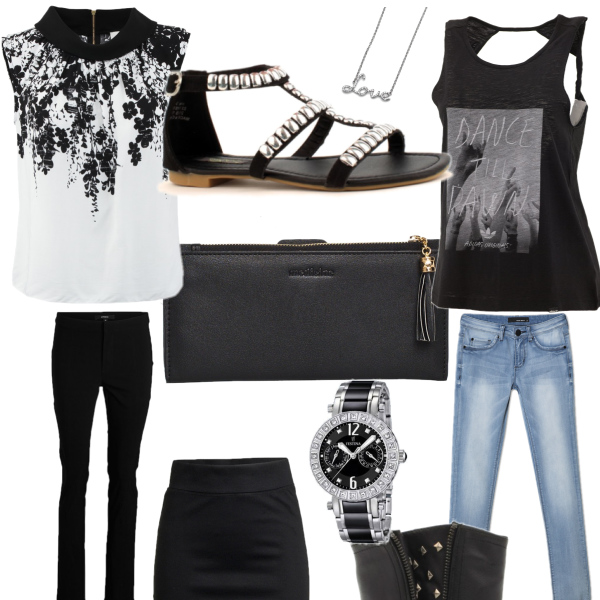 černobílá