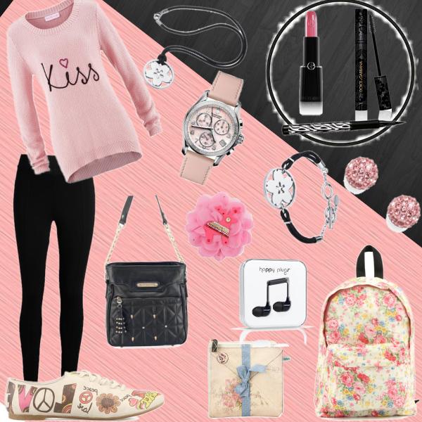 černo růžová ;) (taky na přání :D )