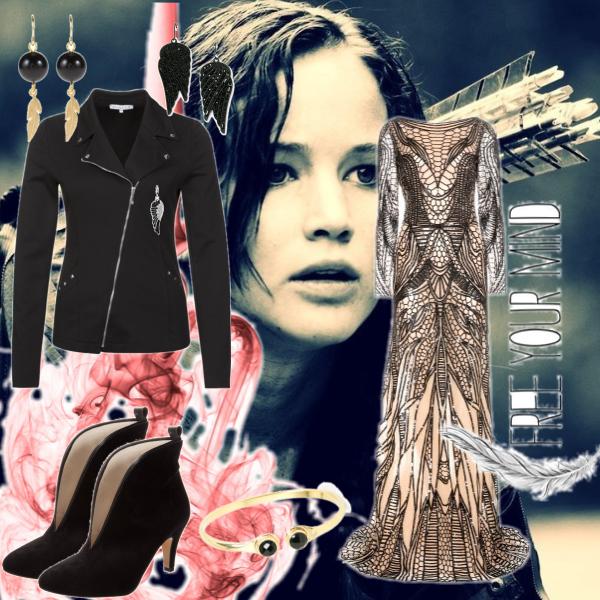 Katniss on show