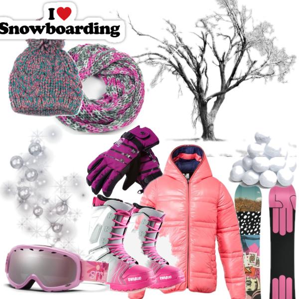 I love snowboarding....