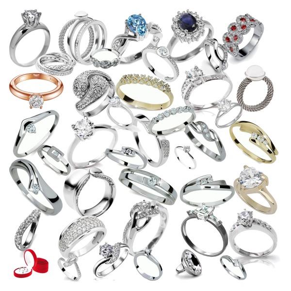 prstínky moc pěkné s diamantama