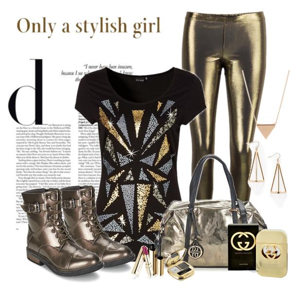 stylish cosmic girl