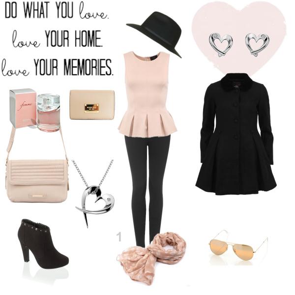 Pink romantic girl