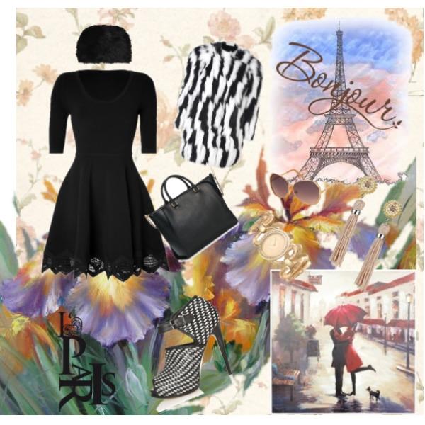 A Lá Paris ...