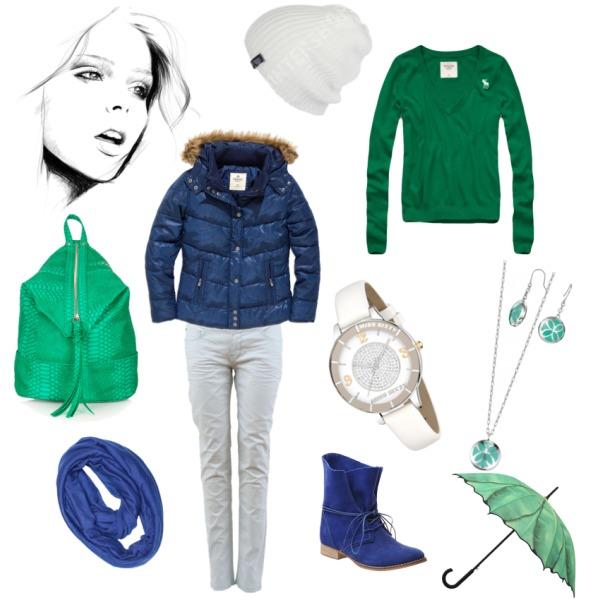 zelená a modrá je pro blázna dobrá :o)