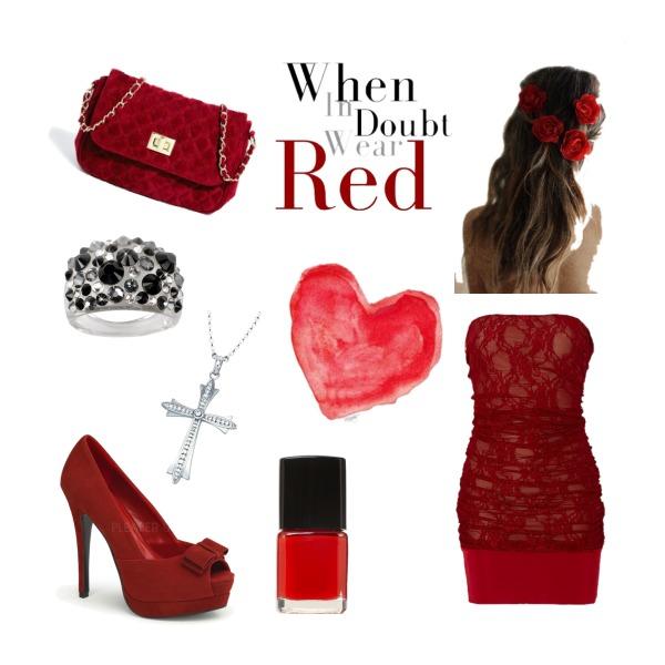 V případě pochybností noste červenou ;) :D