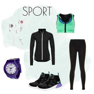 Outfit Sport von Ana