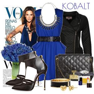Outfit navy blue von Justine