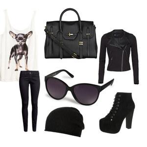 Outfit schwarzes  outfit  von Jacky Dietz