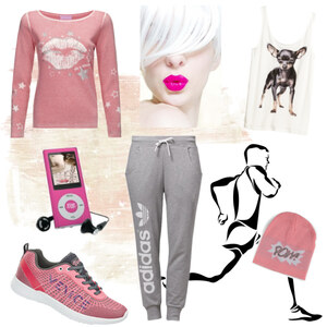 Outfit Joggen :-) von A.N.N.A