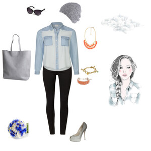 Outfit Jeanslook von HD