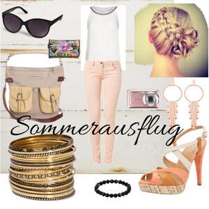 Outfit Sommerausflug  von Laura