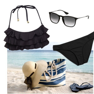 Outfit beach von anne.vanbeek