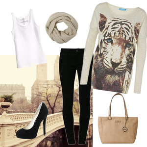Outfit tiger love von anne.vanbeek