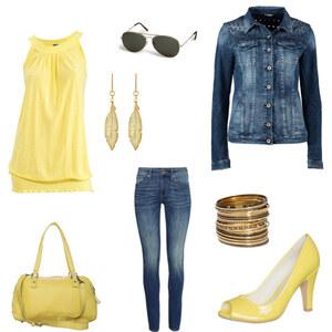 Outfit gelb <3 von proudlady