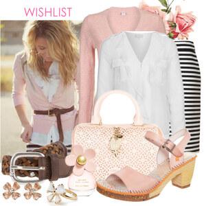 Outfit pink list von Justine