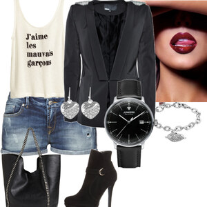 Outfit Kiss von fashionqueen :)