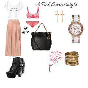 Outfit A Pink Summernight.. von xmellush