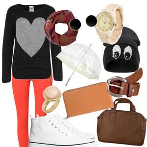 Outfit Raining day von Jeanine