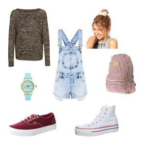 Outfit Childish / Wandertag von Xenia