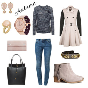 Outfit Autumn in Black & Nude von Jenny Eiser