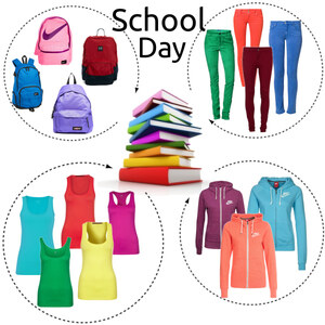Outfit School day von anja.smilyface