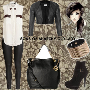 "Outfit Sons of Anarchy/Being an ""Old Lady"" von Glimmerous"