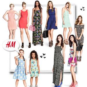 Outfit Kleider H&M  von eine_hexe