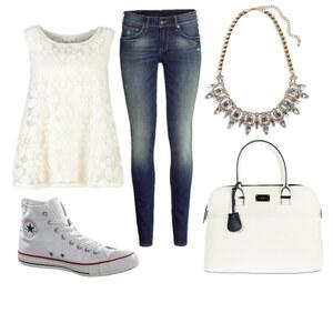 Outfit White von Hannah E. Schneider