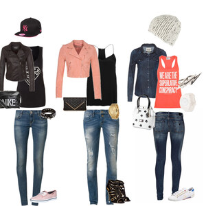 Outfit Skinny Jeans von Mela Wi