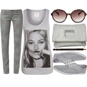 Outfit Outfit in grau von laurae
