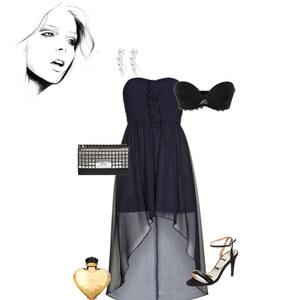 Outfit Abenddress von Mela Wi