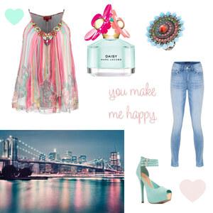 Outfit New York Spring von Maria Giebe