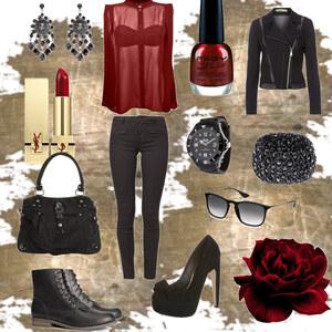 Outfit rockig oder elegant?! Wie würdet ihr es einordnen? von kimi