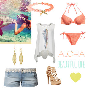 Outfit Party in Hawaii von Maria Giebe