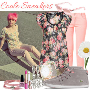 Outfit Coole Sneakers von klara