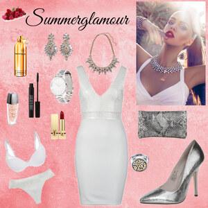 Outfit Summerglamour von Kristin Weinhold