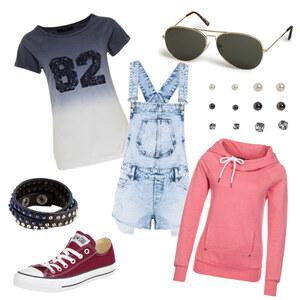 Outfit Latzhose ;) von Michelle Batz