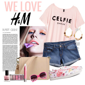 Outfit WE LOVE h&m von Justine