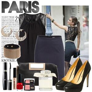 Outfit Paris chic von Justine