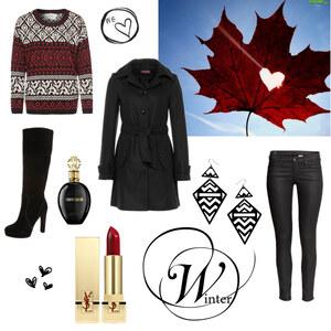 Outfit Winter in Kanada von Maria Giebe