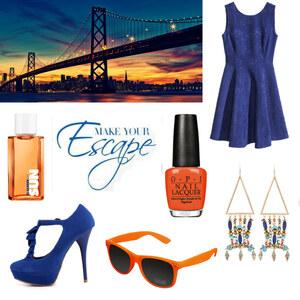 Outfit San Francisco sun von Maria Giebe