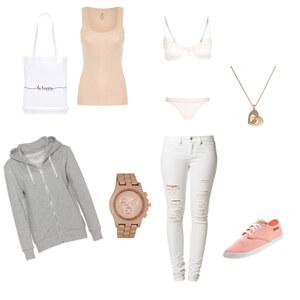 Outfit Rosê / Weiß  von Mona Schöpe