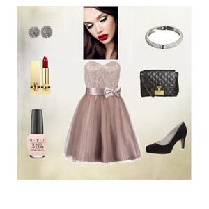 Outfit Abendkleid von Regina Dercho