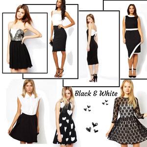 Outfit Black & White von eine_hexe