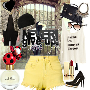 Outfit #Never give up  !  von L.I.S.S.Y