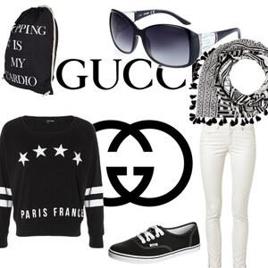 Outfit Streetwear fashion von Fabienne Federer