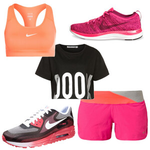 Outfit sporty von The Blog Book