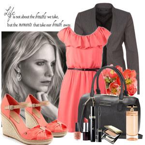 Outfit Coral set von Justine
